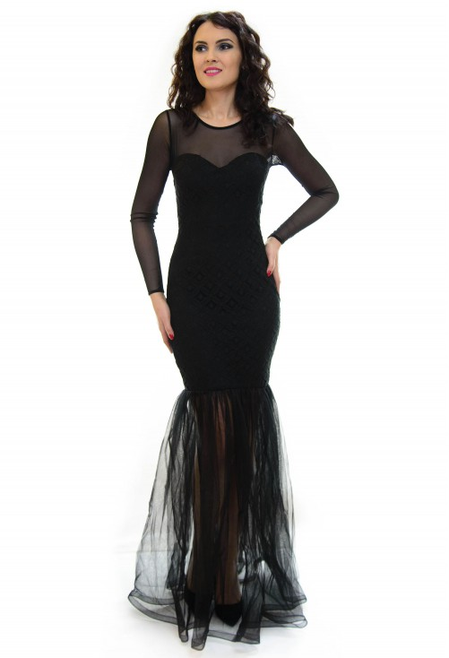 Rochie Sweet Mermaid Black