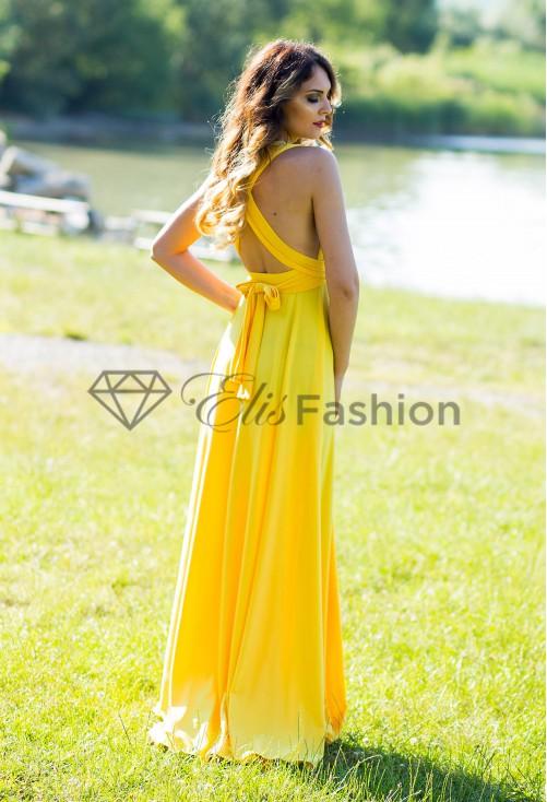 Rochie Versatila Yellow Treat