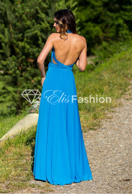 Rochie Versatila Perfect Lady Blue