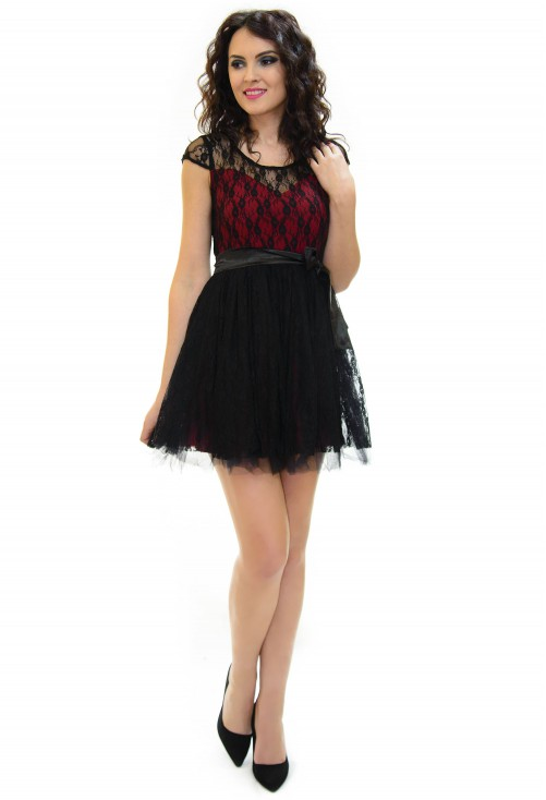 Rochie Removed Red