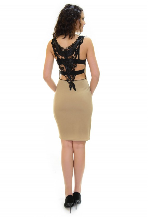 Rochie Diva Break Black