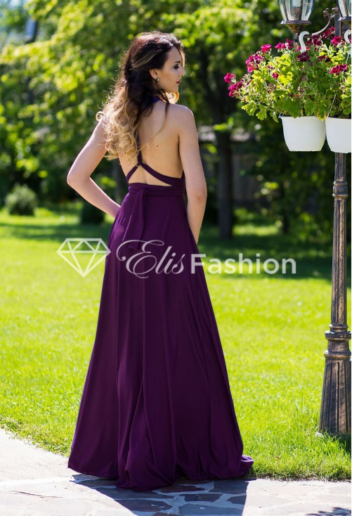 Rochie Versatila Perfect Lady Purple
