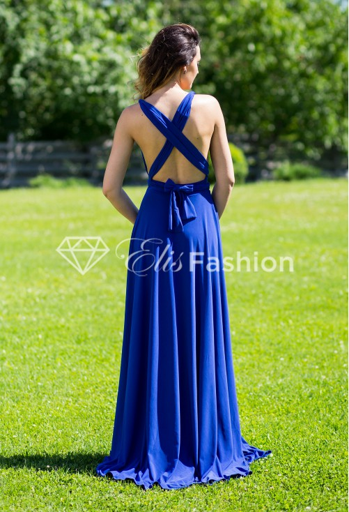 Rochie Versatila Perfect Lady Royal Blue