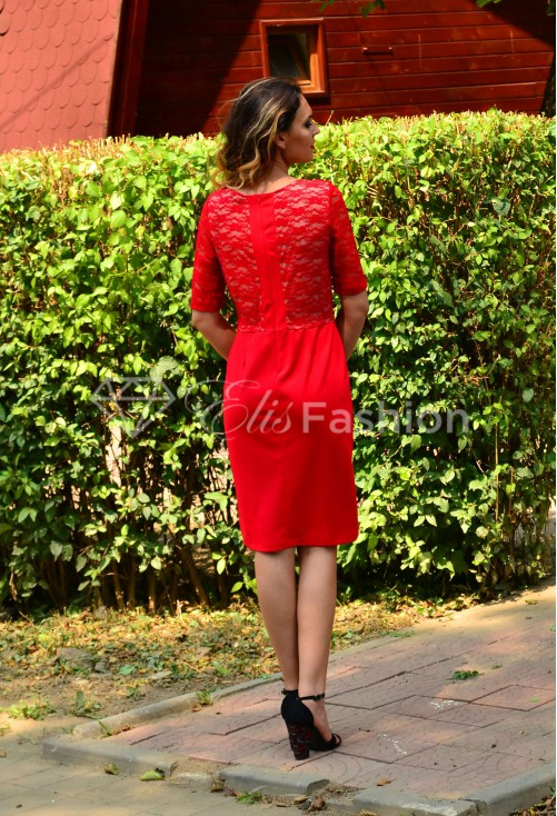 Rochie Blissful Red