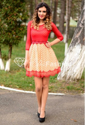 Rochie Precious Look Red