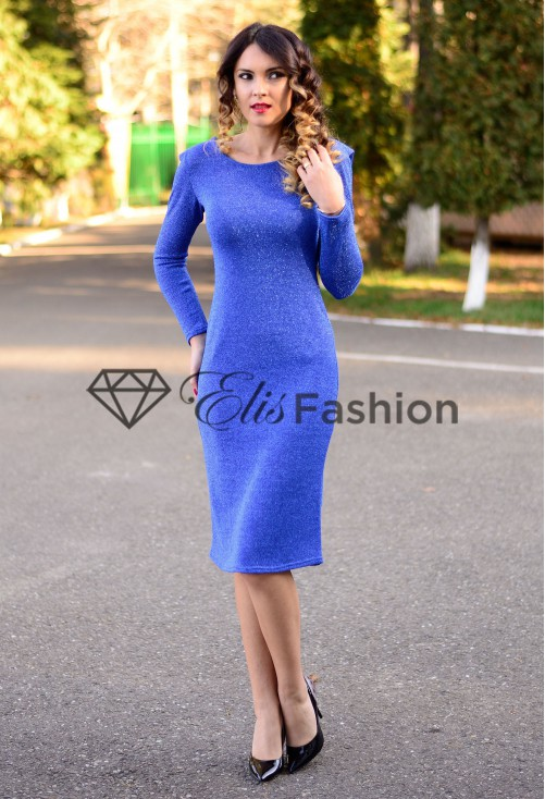 Rochie Glitter Injection Blue