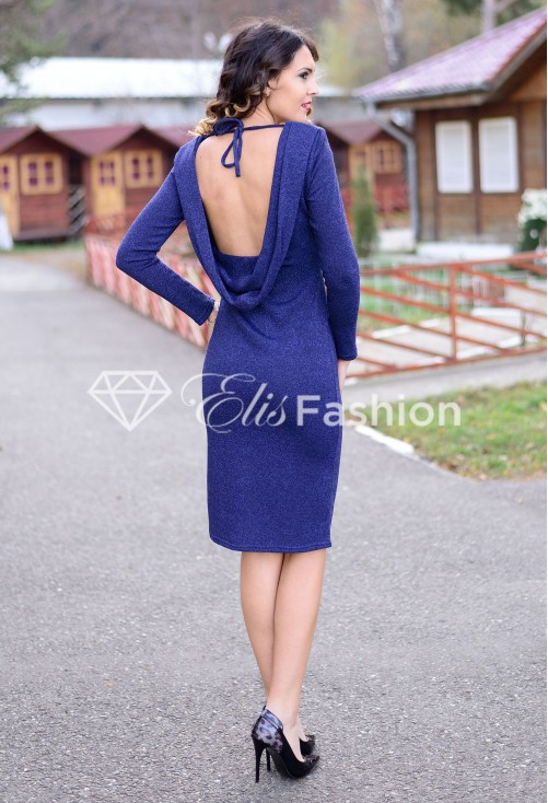 Rochie Glitter Injection DarkBlue