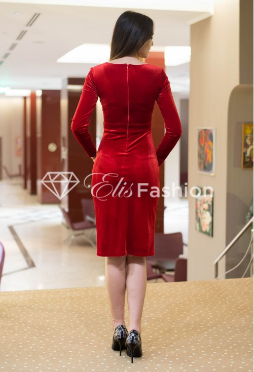 Rochie Party All Night Red