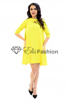 Rochie Majesty Lady Yellow