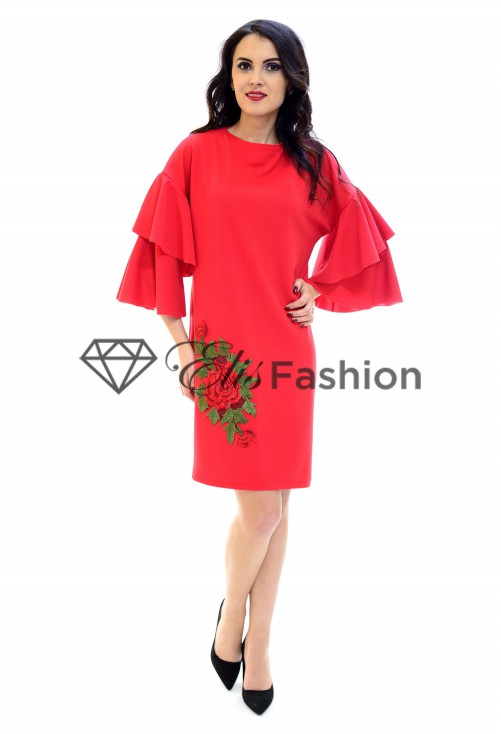 Rochie Feeling Loved Red