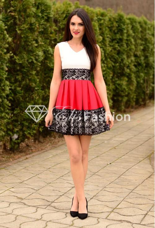 Rochie Future Elegance Red