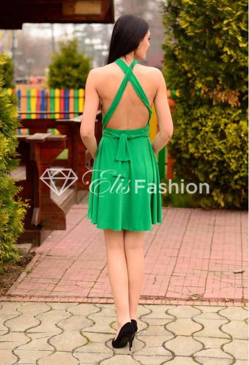 Rochie Versatila Short Green
