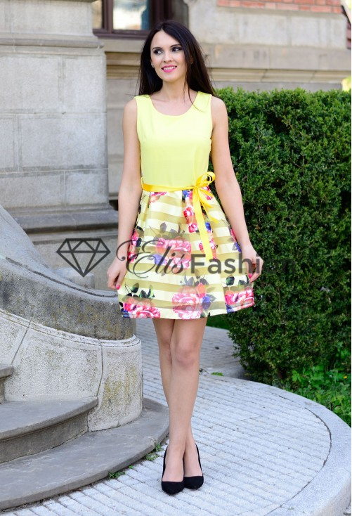 Rochie Perfect Speech Yellow