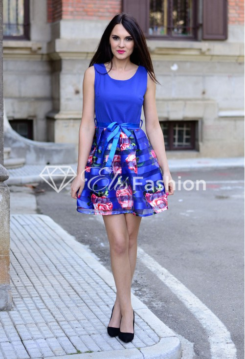 Rochie Perfect Speech Royal Blue