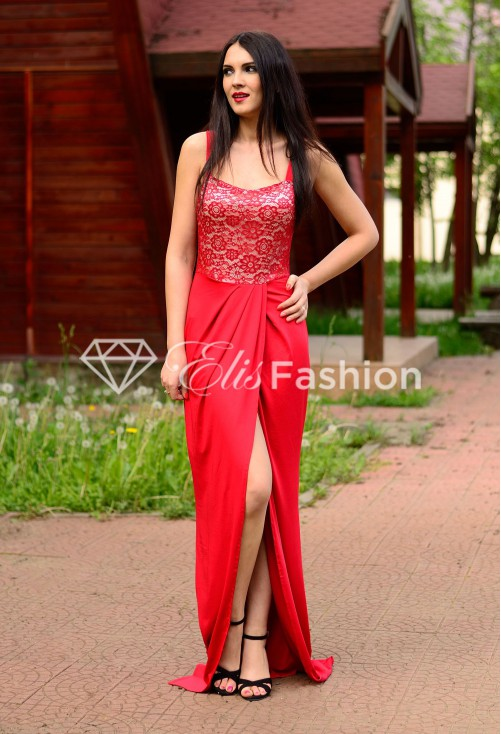 Rochie Forever Style Red