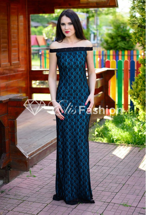 Rochie Pretty Girl Turquoise