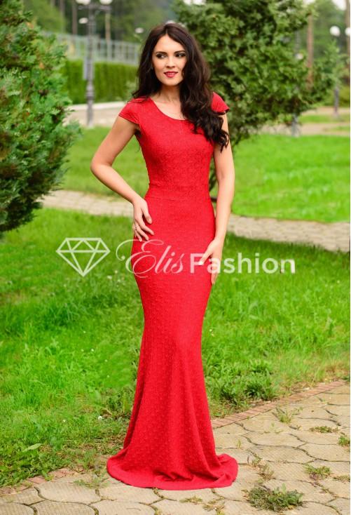 Rochie Sparkling Red Mermaid