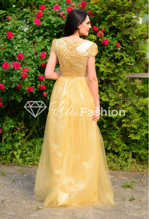 Rochie Cruel Satisfaction Gold