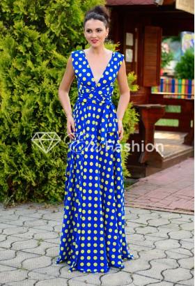 Rochie Versatila Bubbles Blue