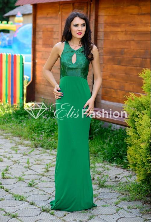 Rochie Shiny Move Green