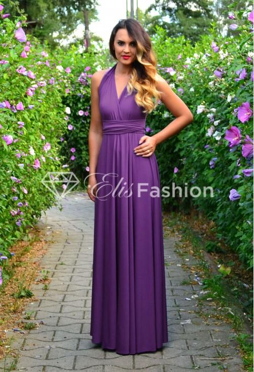 Rochie Versatila Famous Purple