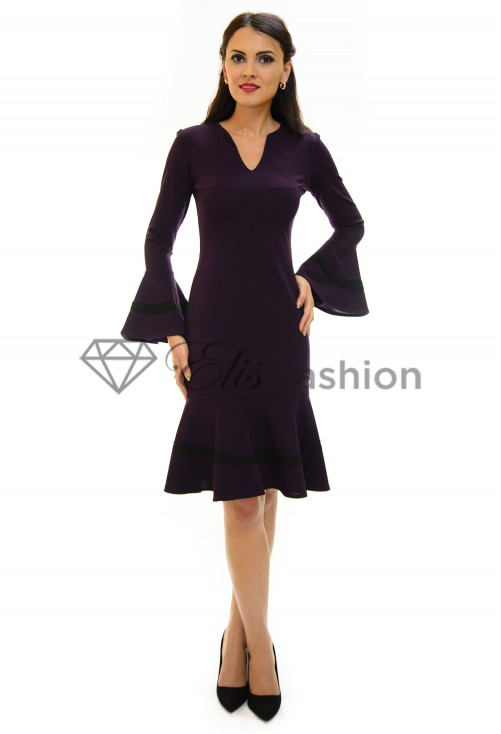 Rochie Electrical Vibe Purple
