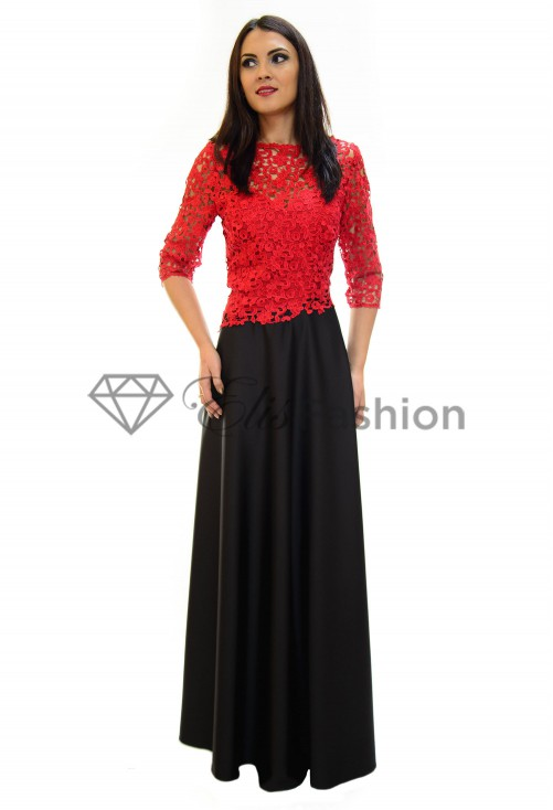 Rochie Perla Donna Systematic Lace Red