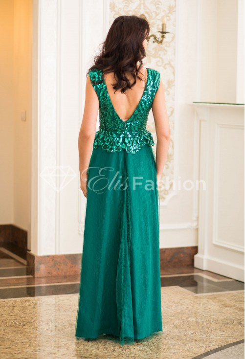 Rochie Ella Collection Perfect Lust Green