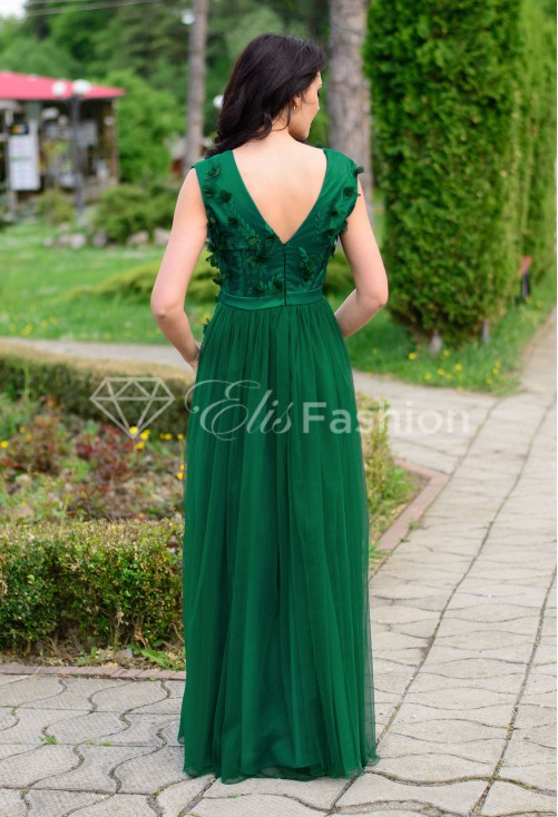 Rochie Ella Collection Princess Green