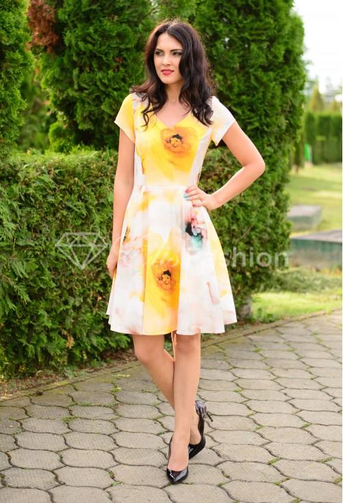 Rochie Inspiring Yellow