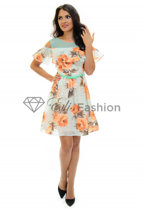 Rochie Enforce Flower Mint