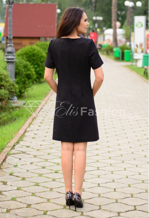Rochie Ella Collection Soft Intuition Black