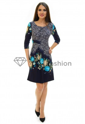 Rochie Right Part DarkBlue
