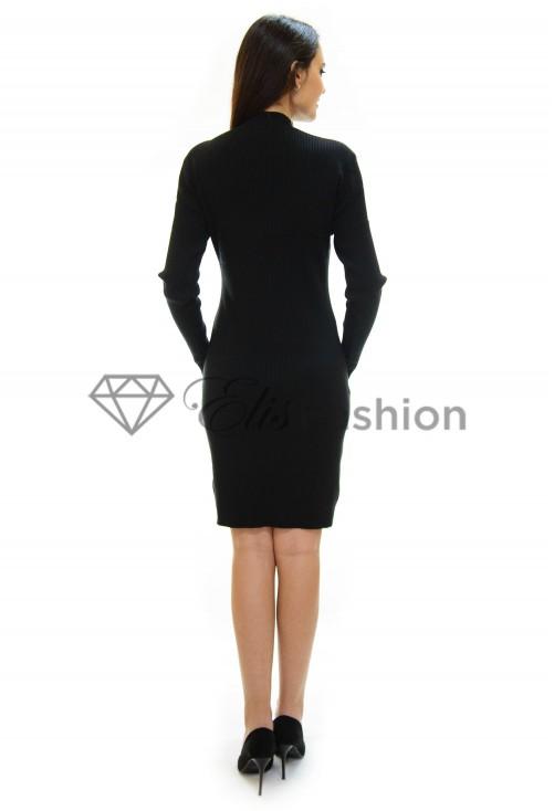 Rochie Tricotata Sparkle On Black