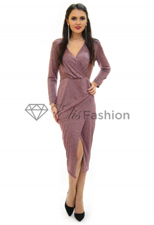 Rochie Important Night Burgundy