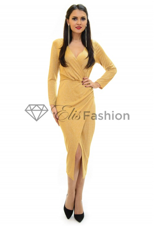 Rochie Important Night Gold