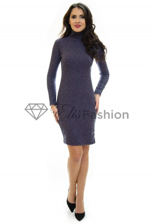 Rochie Tricotata Sleek Fit Dark