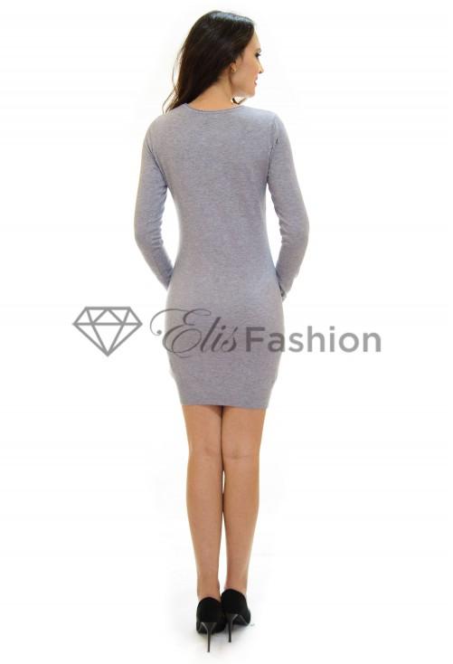 Rochie Tricotata All Sparkly Grey