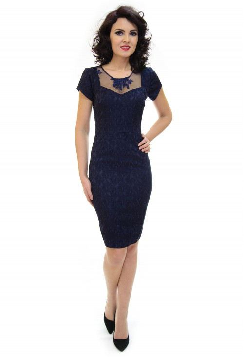 Rochie Ella Collection Destiny DarkBlue