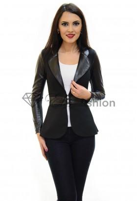 Sacou Advanced Leather Black