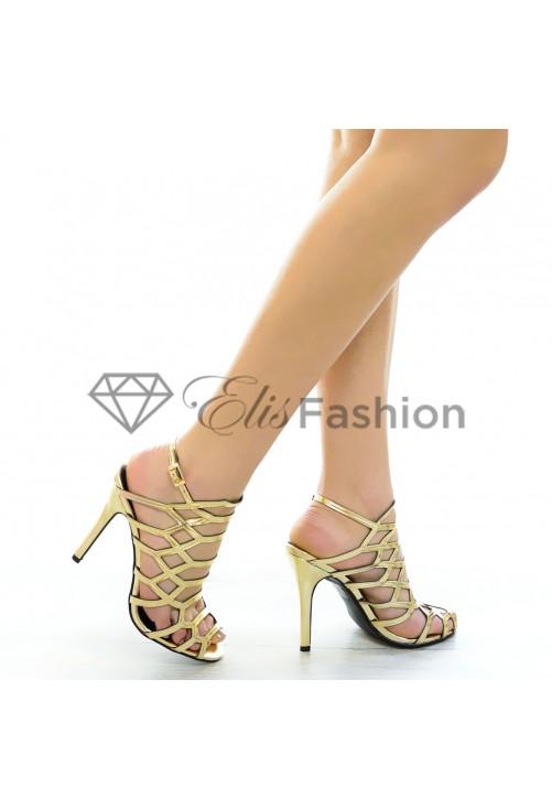 Sandale Prom Night Gold #4655