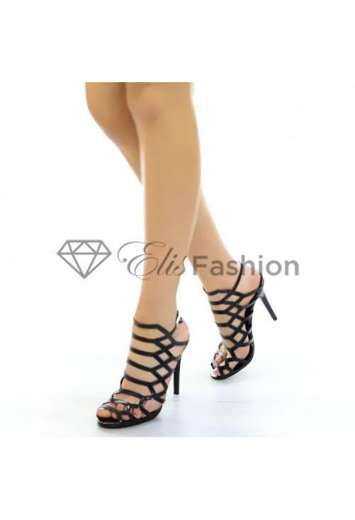 Sandale Prom Night Black #4656