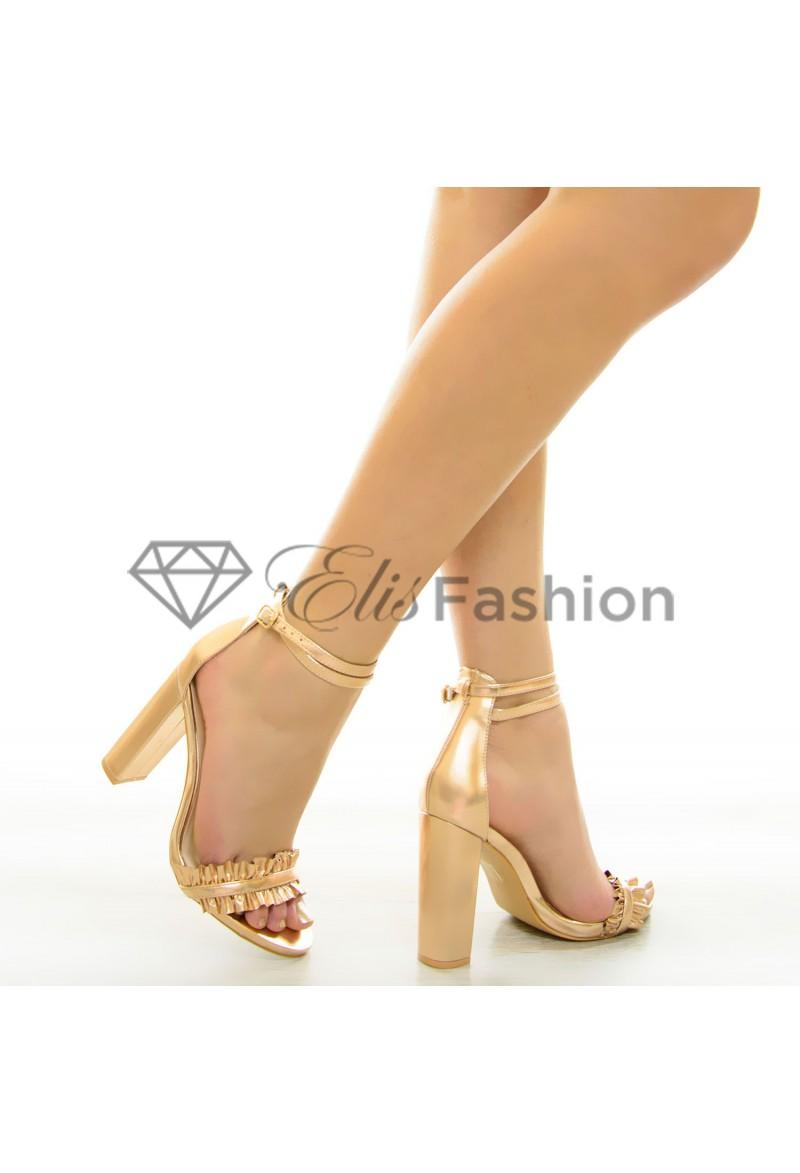 sandale perfect rose gold 7103. Black Bedroom Furniture Sets. Home Design Ideas