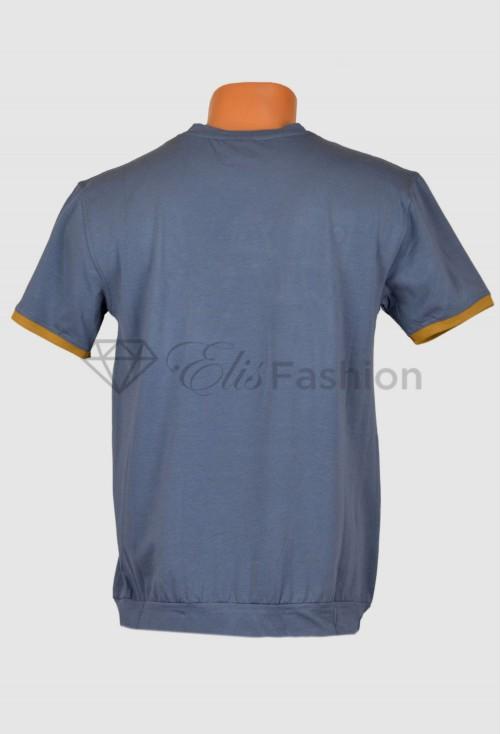 Tricou Ruffle Grey