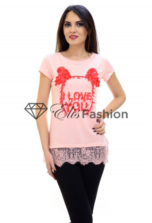 Tricou Perfect Wonder Pink