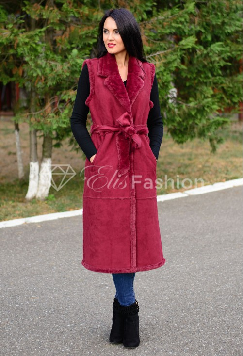 Vesta Elegant Statement Burgundy