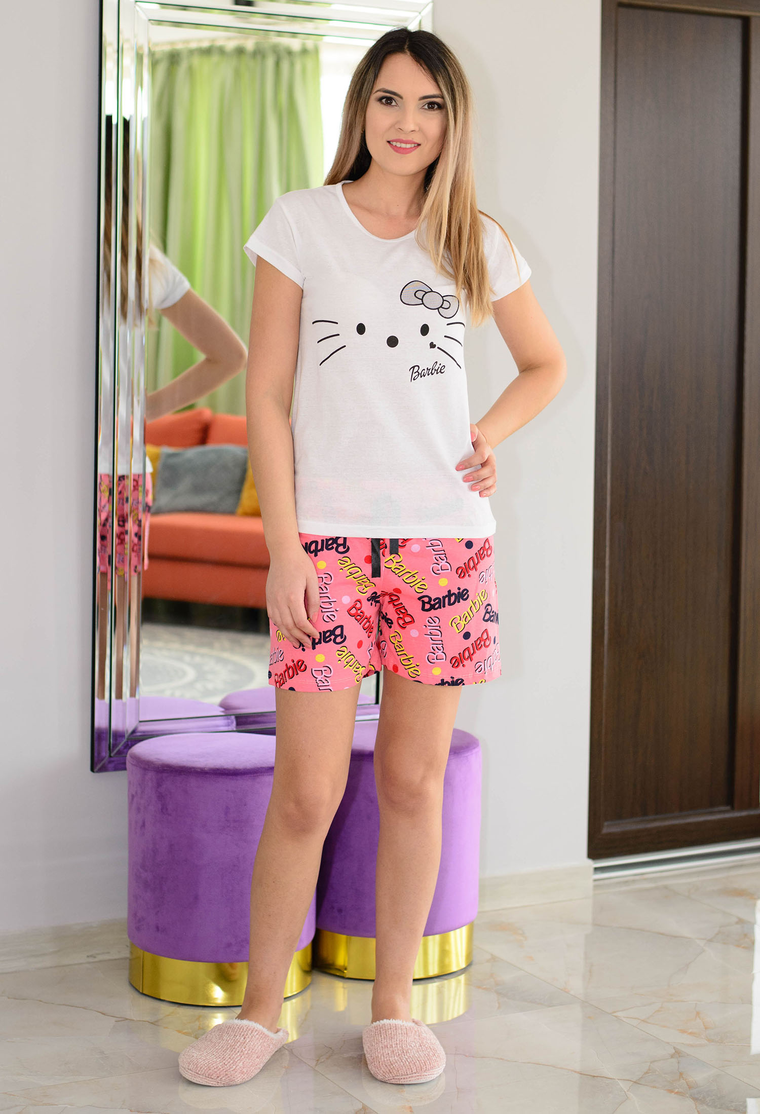 Pijama Casual Fit White
