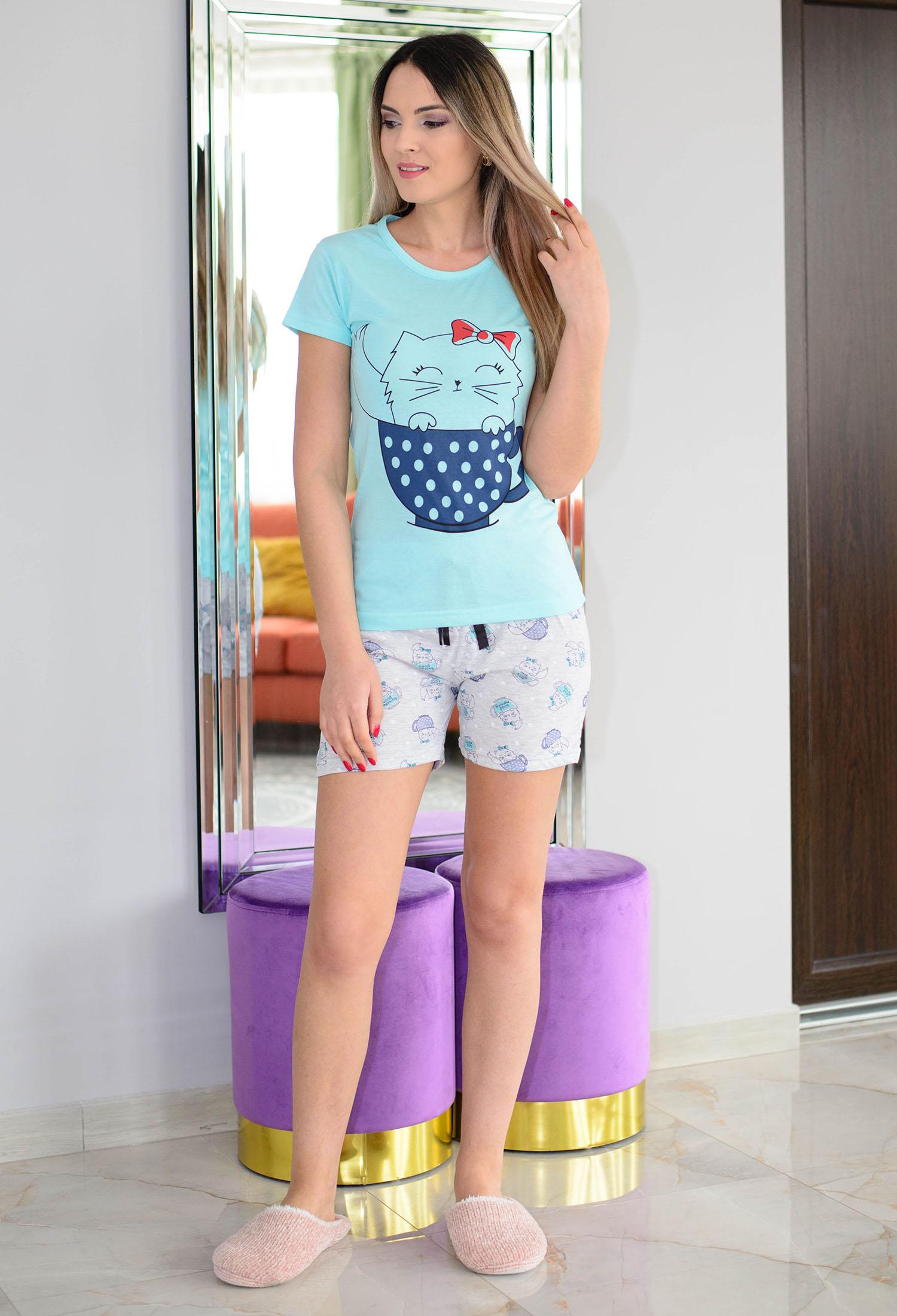 Pijama Love In A Cup Blue