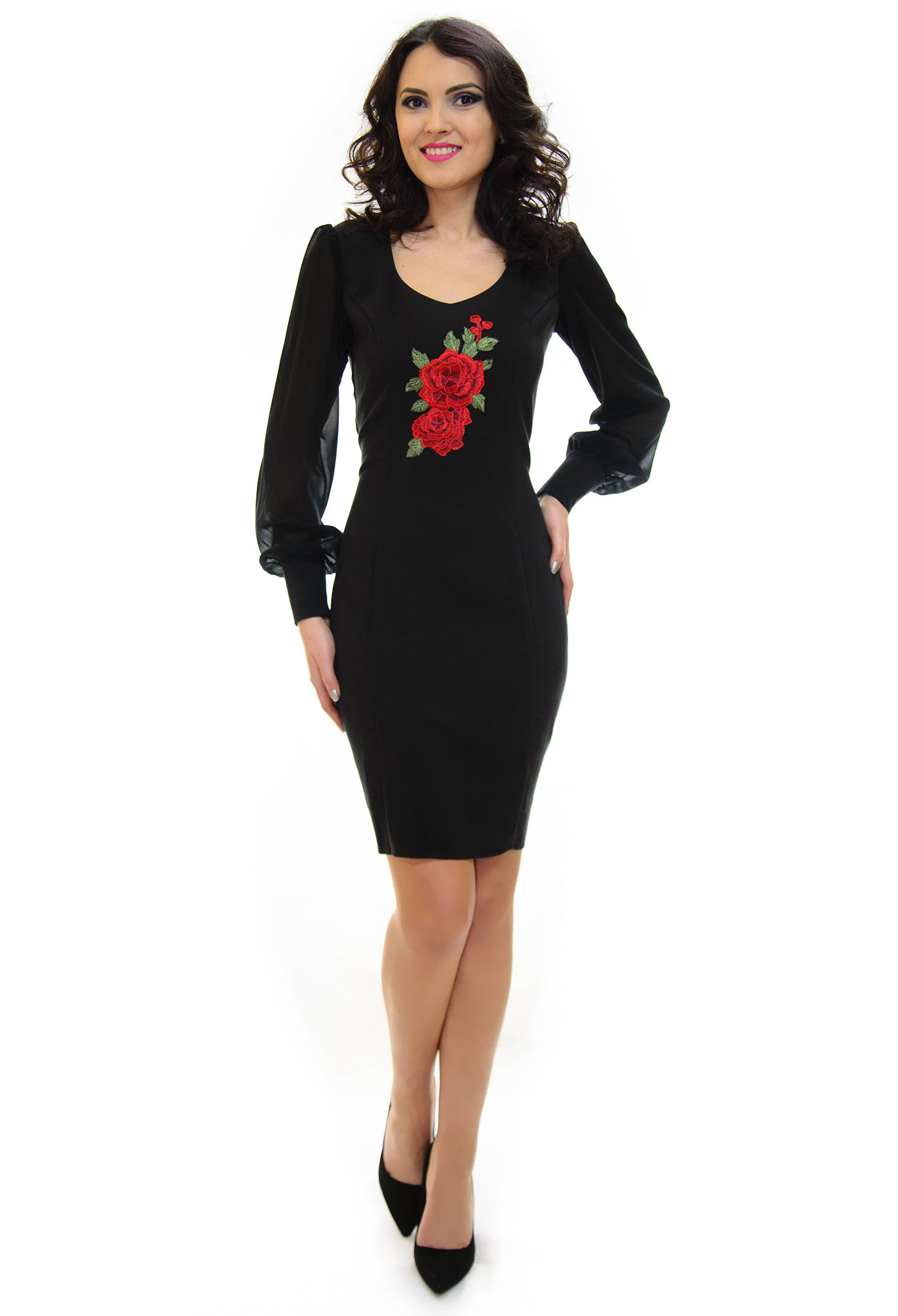 Rochie Ella Collection Vicious Elegance Black