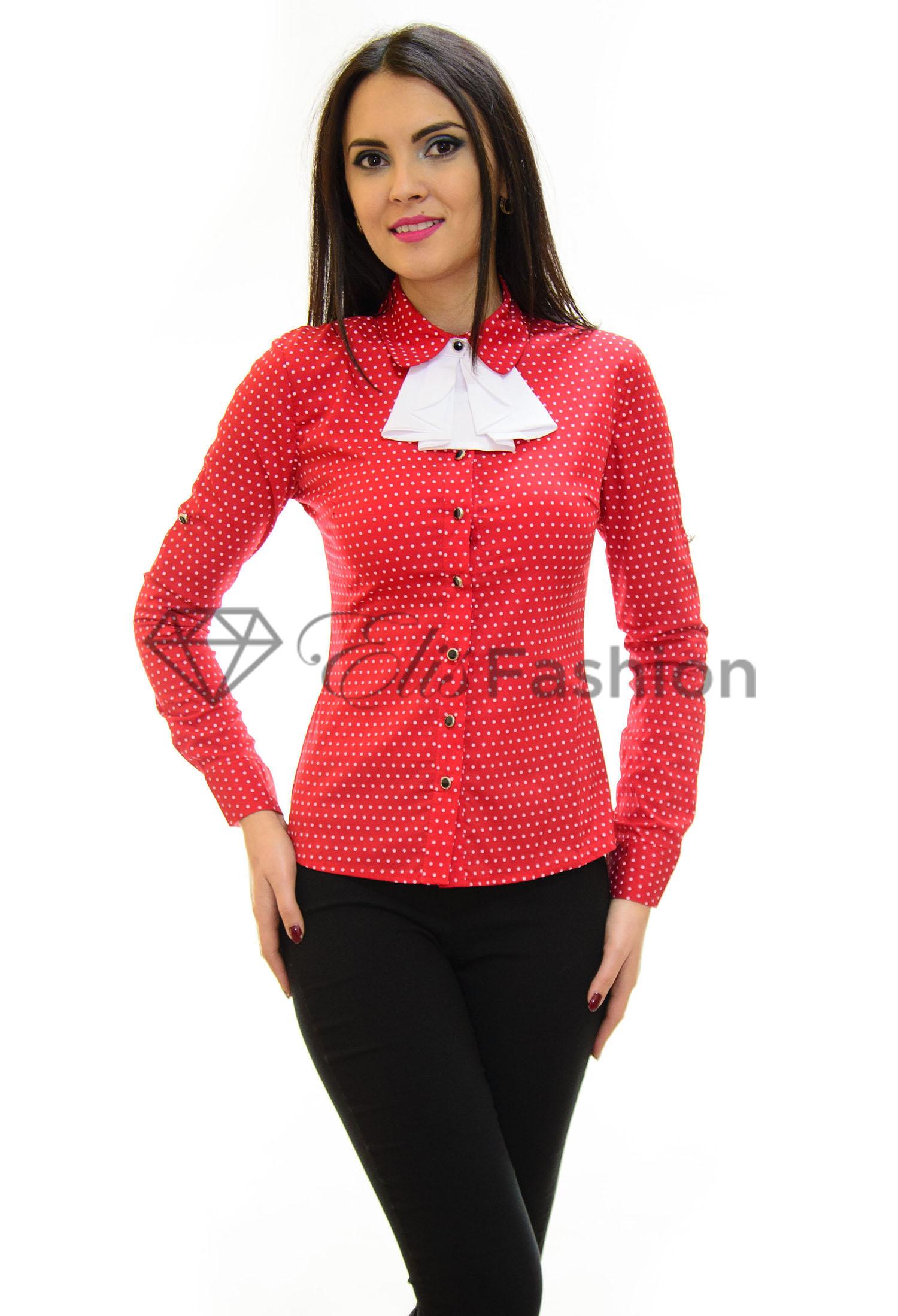 Camasa Elegant Gesture Red